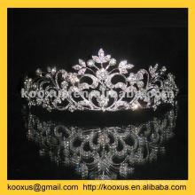 Bridal crown with full rhinestone