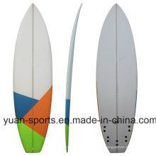Placa de surf en blanco de la PU de la alta calidad, tablero corto para la venta al por mayor