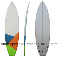 High Quality PU Blank Surfboard, Short Board for Wholesale