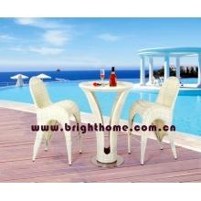 Mobiliário de jardim - Mesa de bar e cadeira (BP-904)