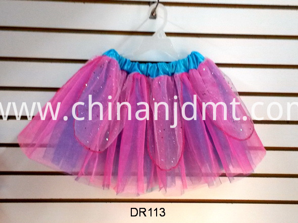Mixed Color Tutu Skirt