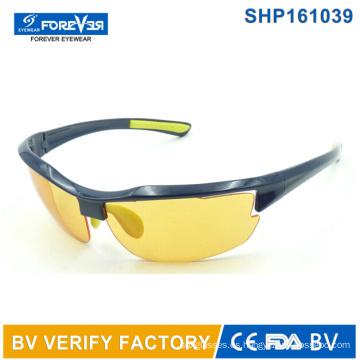 Shp161039 noche visión gafas con lente polarizada amarillo