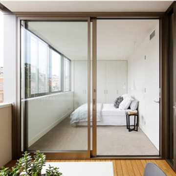 Lingyin Construction Materials Ltd Aluminium Glass Sliding Doors untuk rumah