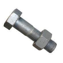 Hex Head Machine Bolt with Hex nut