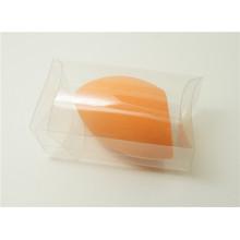 Esfera privada del ángulo de la etiqueta del maquillaje cosmético de la esponja con el paquete del PVC