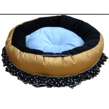 Flower Design Higher Quality Pet Round Bed
