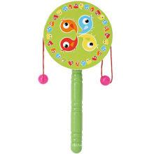 Деревянная обучающая игрушка игрушка для барабанной драм-музыки