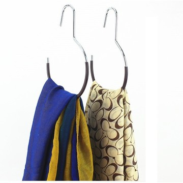 Simple Colorful PVC Coated Scarf Hanger
