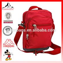 Bolsa de mensajero pequeña Bolsa de hombro individual con múltiples bolsillos