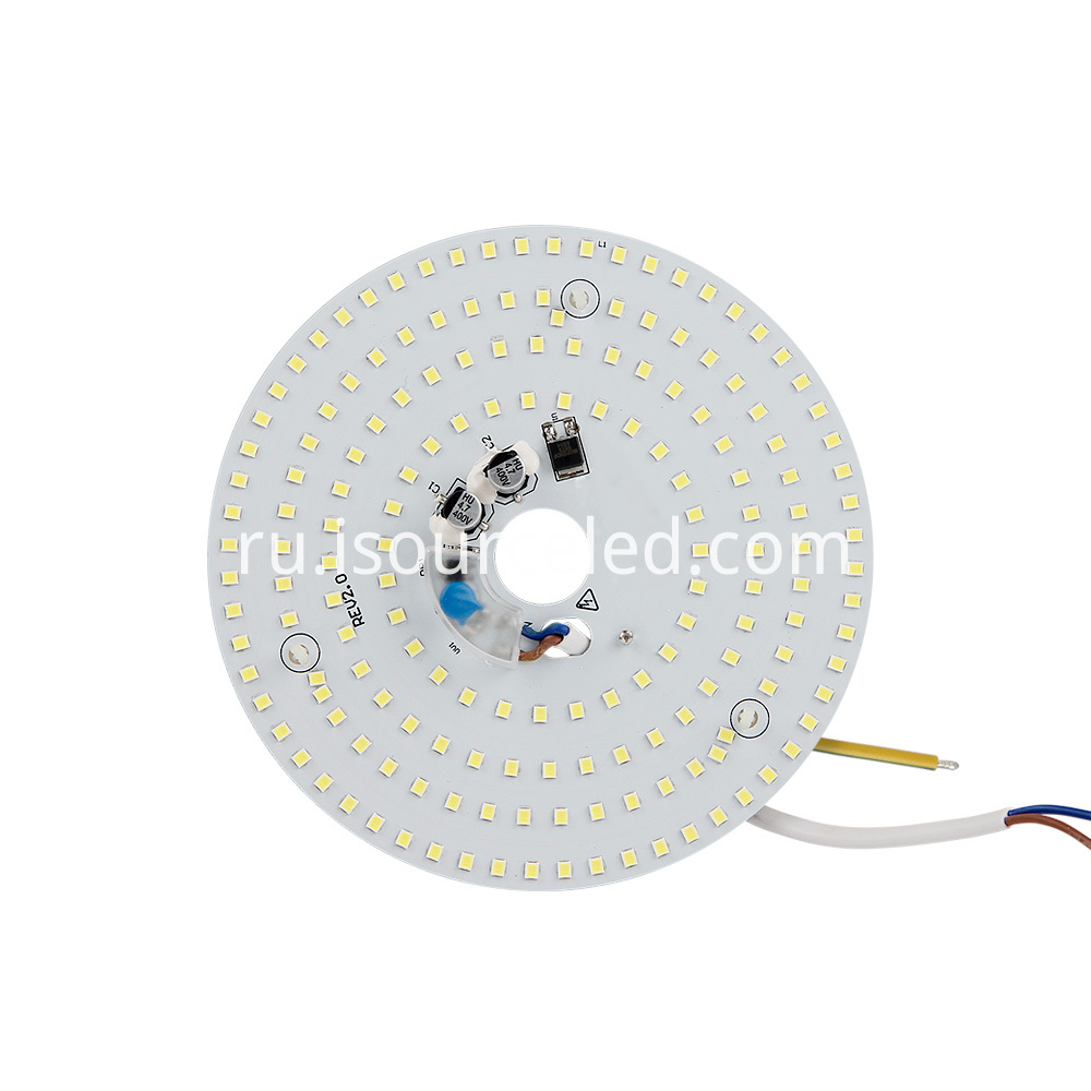 220V High lumen 15W white light ceiling module front