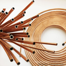 Refrigerator Copper Coated Steel Bundy Pipes 4.76/6/6.35/8/9.52/10/12/12.7mm