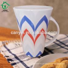 Alimento contato seguro barata porcelana viajar em massa caneca