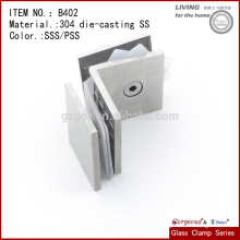 China 304 Casting Stainless Steel Glass Mounting Hold Down Clamp