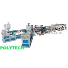PC/PVC/línea de extrusión de hoja/tablero