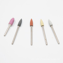 Wholesale Polishing Skin Tools Manicure Silicone Drill Bit