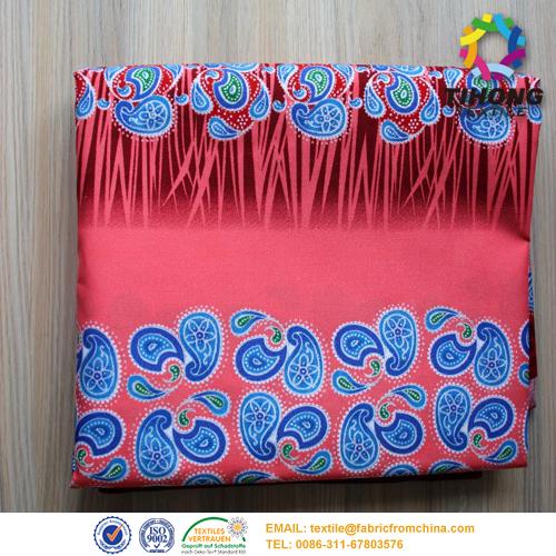 Tecido de algodão impressa Africano vestido