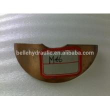Saddle bearing for M46 hydraulic pump, metal saddle bracket bearing