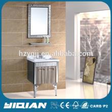 Cabinet moderne Cabinet de lavabo simple et indépendant Cabinet de salle de bain en acier inoxydable Hot Sale Cabinet en inox