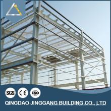 Prefab Industrial Factory Warehouse Johor de aço galvanizado