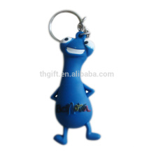 Promotional 3D soft pvc keychain with custom logo