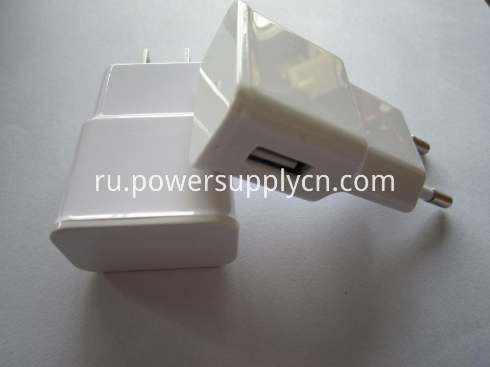 Single USB Phone Travel Charger