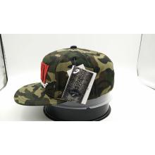 Casquillo de encargo de la manera de Camo del logotipo del bordado 3D (ACEW177)