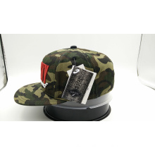 Custom 3D Embroidery Logo Camo Fashion Cap (ACEW177)