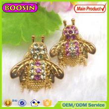 Small Crystal Brooch Pins/Crystal Bee Brooch Pins #51004
