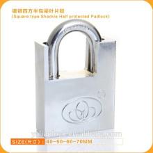 Essential Safety Square Tipo Shackle Cadeado meio protegido