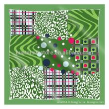 2015 plus récent Green Design Hijabs musulmans