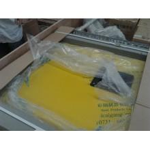 PPGI porta deslizante manual para sala fria