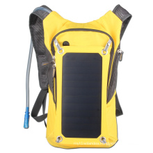 2016 portable solar bag with 10000mah mobile phone charger and 6.5W solar panel solar cycling bag