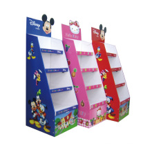Custom Shop Supermarket Store Display Rack Professional Engraving Cutting Printing Floor Standing Display Unit Customized Color