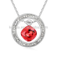 Корейский стиль моды рубин вечернее ожерелье партии