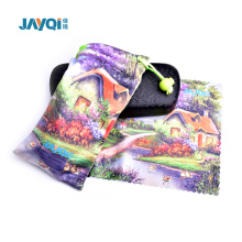 3 Color Printing Eyeglasses Pouch