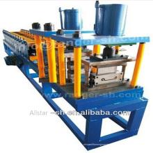 Fabricante balanceo puerta rodillo obturador automático que hace máquina la cadena de producción en China