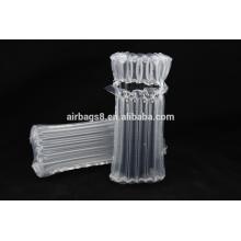 Moda aire columna empaquetado bolsa inflable paquete protector para cartucho de toner