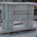 Cheminée en marbre blanc pour décoration intérieure (SY-MF001)