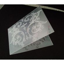 Nuevo diseño DIY de carpeta para hacer tarjeta de grabación en relieve