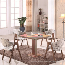 Best Design Offer Cafe Timber Table Chair Set Retro (SP-CT726)