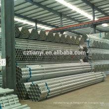 40 milímetros gi pipe, sch40 gi tubo com preço competitivo