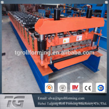 Wall and roof used galvanized roof sheet making machine