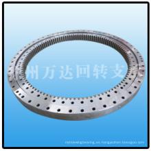 Cojinetes de anillo giratorio de gran tamaño para grúa de torre