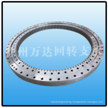 Marine deck crane slewing ring bearing