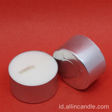 Votive Long Burning Lilin Tealight Putih Murah