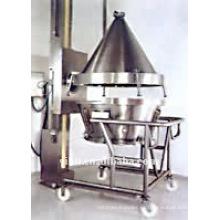 YS Fluid Bed Hopper Lift Machine (inversor de intestino) utilizado en la máquina