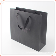 Shopping hand bag with luxury shining logo printing for brand jewelry