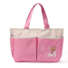 Multifunctional Fashion Mummy Bag Baby Diaper Bag