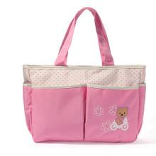 Multifunktionale Mode Mama Tasche Baby Windel Tasche