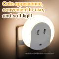 Home Reise USB Wand Ladegerät Adapter mit LED Licht Wahrnehmung